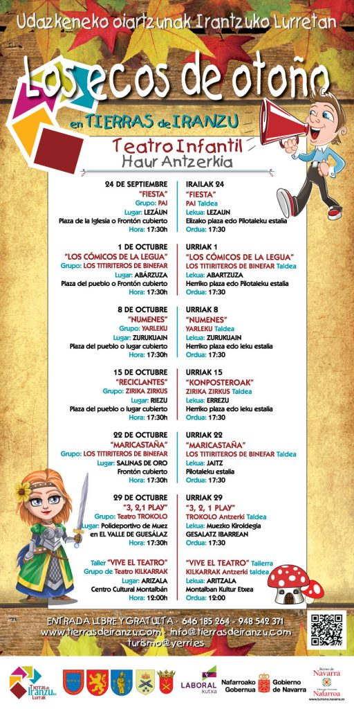 Para niños .Teatro infantil en Navarra