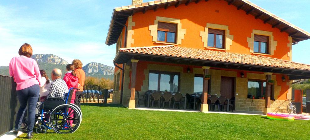 Casa rural para minusválidos