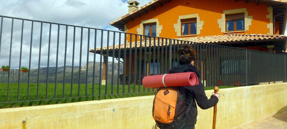 Casa Rural para peregrinos en Navarra