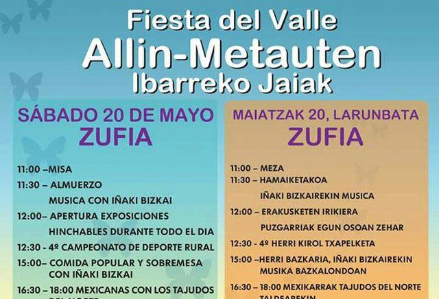 Fiesta del valle de Allín Zufía 2017
