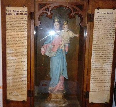 Virgen María auxiliadora de Eulz