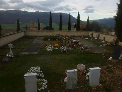 Cementerio de Eulz en Navarra