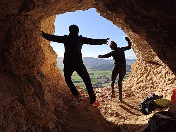 Cueva San Prudencio en Ganuza